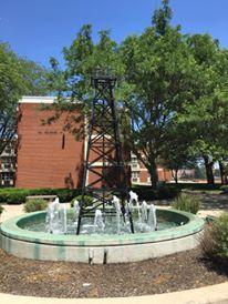 UF Oilers Fountain